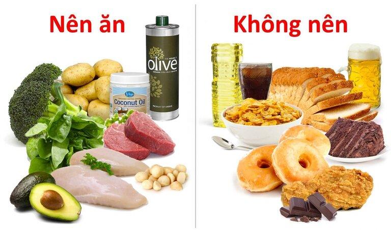 Người bị nổi mề đay cần kiêng đồ ăn nhanh và đồ chiên rán nhiều dầu mỡ