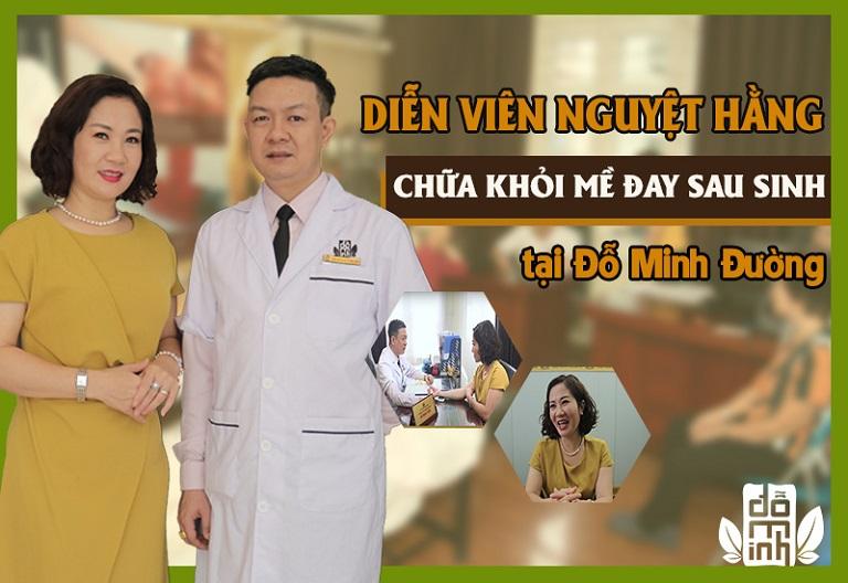 Diễn viên Nguyệt Hằng khỏi bệnh mề đay chỉ sau 2 tháng điều trị