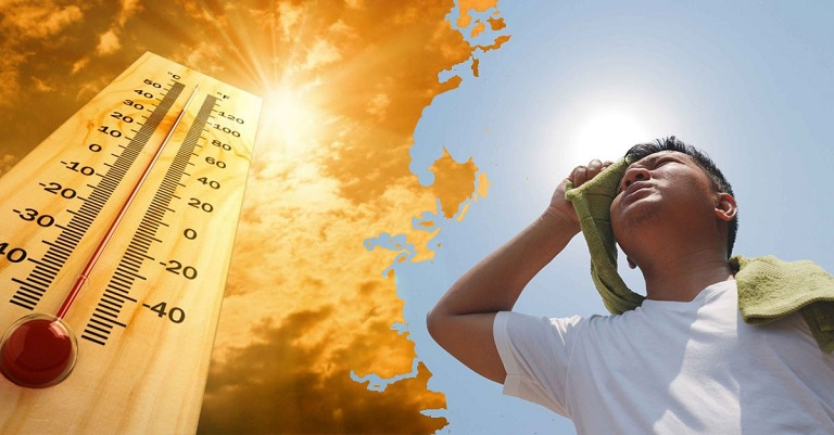 Tia cực tím là một trong những nguyên nhân gây mẩn ngứa khi thời tiết nóng