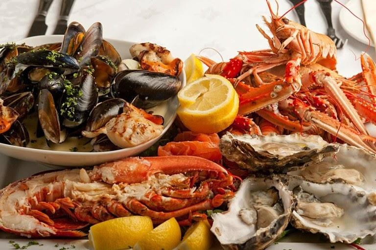 Hải sản là món ăn khiến nhiều người bị dị ứng nổi mẩn