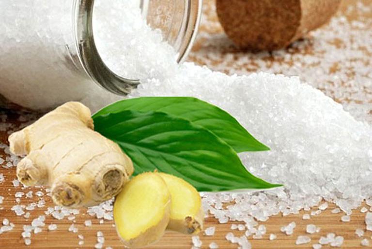 Sự kết hợp giữa gừng với muối, bạn nên tham khảo