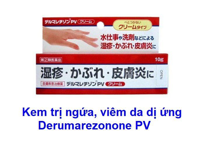 Kem trị ngứa da Derumarezonone
