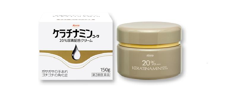 Thuốc trị nổi mề đay, dị ứng, á sừng của Nhật Keratinamin