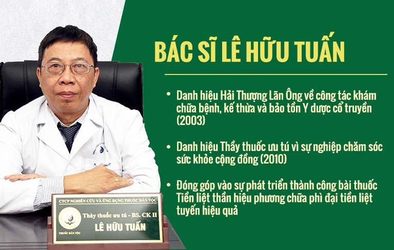 Thầy thuốc ưu tú - Bác sĩ CKII Lê Hữu Tuấn đánh giá cao bài thuốc Mề đay Đỗ Minh