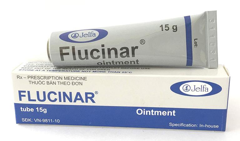 Thuốc bôi ngoài da chữa mề đay Flucinar